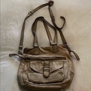 All Saints leather purse